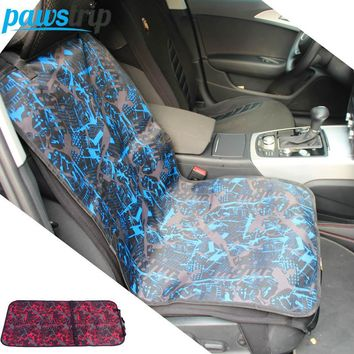 Waterproof Oxford Dog Car Seat Cover Fashion Print 90 x 60cm