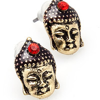 The Little Budda Peace Studs