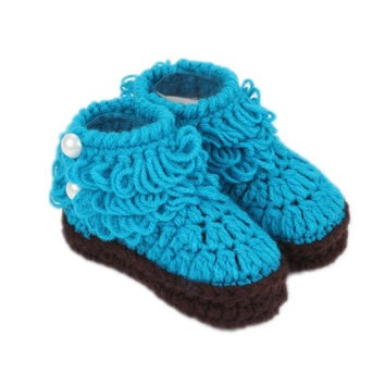 Newborn Cotton Cute Candy Color Baby Boy Girl Shoes Soft Fleece Fringe Toddler First Walker Infant Lovely Kids Boots Moccasin