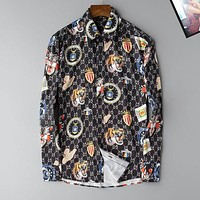 Gucci  Men Fashion Casual  Shirt