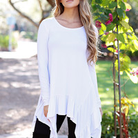 Dreamy Asymmetrical Top