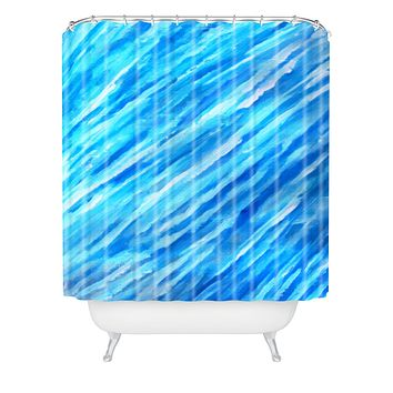 Rosie Brown They Call It The Blues Shower Curtain