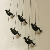 Global Views Climbing Man Wall Sculpture - Free Shipping