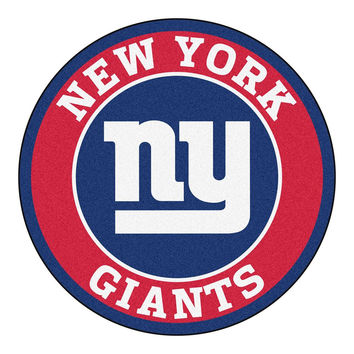 New York Giants NFL Round Floor Mat (29)