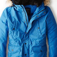 AEO 's Get Down Hooded Parka (Navy)