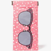 Polka Dot Sunglasses Case
