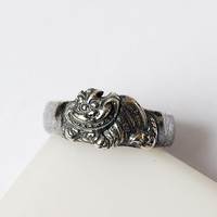 Cheshire cat, Cheshire cat  ring, Cheshire cat jewelry, Alice in Wonderland, Fashion ring, Modern ring, Cat ring, Cat jewelry, Car rings