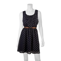 IZ Byer California Polka-Dot Dress - Juniors