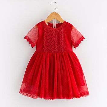 New baby girl clothing kid clothes Lace princess dress Formal dress Toddler Girl Clothing Children Clothes