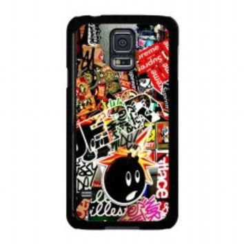 Sticker Bomb Supreme and illest for samsung galaxy s5 case