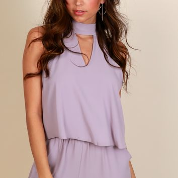 Skyline Romper Dove Grey