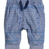 H&M Patterned Cotton Pants $14.99