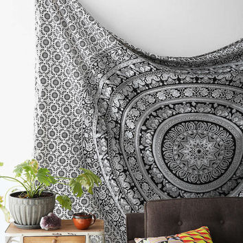 Mandala tapestry Hippie Hippy Wall Hanging Throw Bedspread Dorm Tapestry Decorative Wall Hanging Beach Blanket star Mandala Tapestries