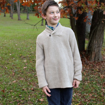 Boys Janie and Jack Knit Sweater, size 10