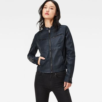 Mower Denim Slim Overshirt | Dk Aged | Women | G-Star RAW®