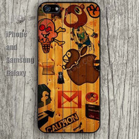 Wood painting monkey letters iphone 6 6 plus iPhone 5 5S 5C case Samsung S3,S4,S5 case Ipod Silicone plastic Phone cover Waterproof