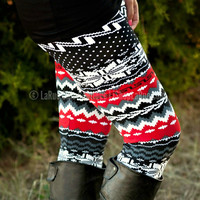 WHAT A FABULOUS HOLIDAY LEGGINGS - ONE