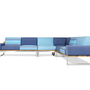 Oko Lounge Combination 3 (with bolster) - Garden sofas by Mamagreen | Architonic