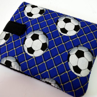 "Soccer Tablet Case /Sports tablet Case/ Kindle Fire HD 7"" Case/ i Pad Mini case/ Nook HD Case"