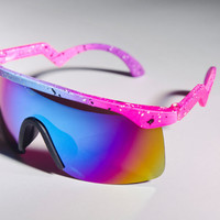 Blaster Oakley Ski Mirror Inspired Neon Colorful by Awake87