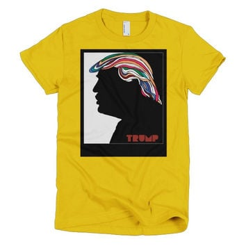 Donald Trump Psychedelic Hair Milton Glaser Redux Women's T-Shirt