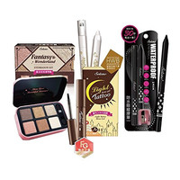 SOLONE 4 in 1 Makeup Limited Edition Pack w/ Eyebrow Tatto, Eye Makeup Remover, Eyeliner & Eyeshadow Kit