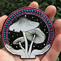 Shroom Offering - Sticker - 3x3