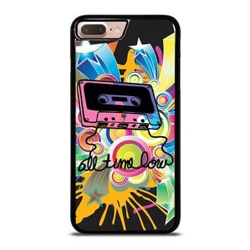 ALL TIME LOW RETRO CASSETE iPhone 8 Plus Case Cover