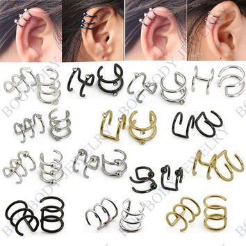 Fake Cartilage Clip-On Earing