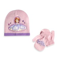Rising Star Toddler Sofia the First Hat and Mitten Set