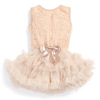 Infant Girl's Popatu Soutache Tutu Dress