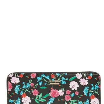 kate spade new york cameron street jardin lacey leather wallet | Nordstrom
