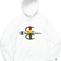 Supreme Supreme®/Champion® Stacked C Hooded Sweatshirt