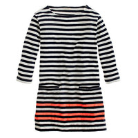 Girls' stripe pocket tunic - AllProducts - sale - J.Crew