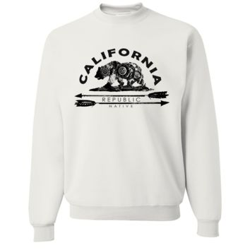 California Arrow Bear Crewneck Sweatshirt
