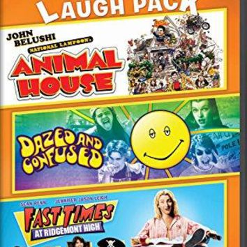 John Belushi & Jason London & Richard Linklater & Amy Heckerling -National Lampoon's Animal House / Dazed and Confused / Fast Times at Ridgemont High 3-Movie Laugh Pack