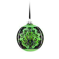 The Haunted Mansion Glass Ball Ornament - Green