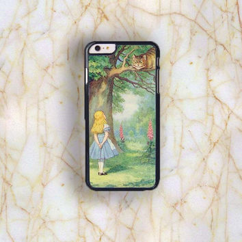 Dream colorful Dream colorful Alice In Wonderland Plastic Case Cover for Apple iPhone 6 Plus 4 4s 5