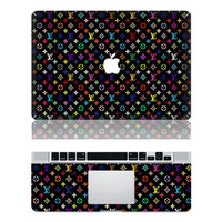 MBqt (146)-Macbook Decals Macbook Stickers Mac Cover Macbook Skins Decal for Apple Laptop Macbook Pro Macbook Air Partial Skin