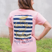 Simply Southern Feather Tee