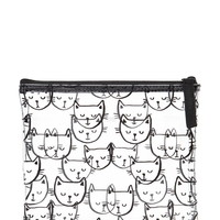 Cat Print Makeup Pouch
