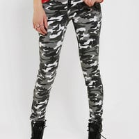 Urban Outfitters - Tripp NYC High-Rise Camo Skinny Jean