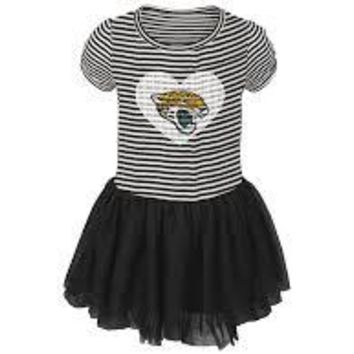 NFL Jacksonville Jaguars Celebration TuTu Sequins Dress