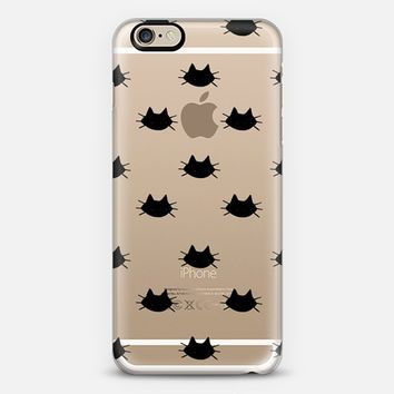 Lucky Black Cat iPhone 6 case by Violet LeBeaux | Casetify