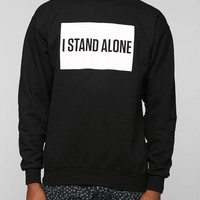 Theophilus London I Stand Alone Pullover Sweatshirt - Urban Outfitters