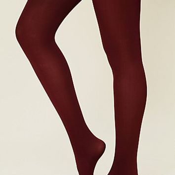Piace Boutique - Free People Solid Opaque Tight (Multiple Colors) in Accessories