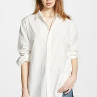 Women's Madewell Oversized Button Front Tunic,