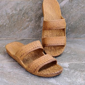 golden brown classic jandals® -  pali hawaii sandals