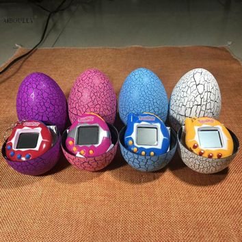 Dinosaur Egg Tumbler Virtual Cyber Digital Pets Electronic Digital E-pet Retro Funny Toy Handheld Game pet Machine Tamagochi Toy