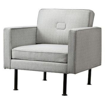 TOO by Blu Dot Window Lounge Chair - Gray Botanical